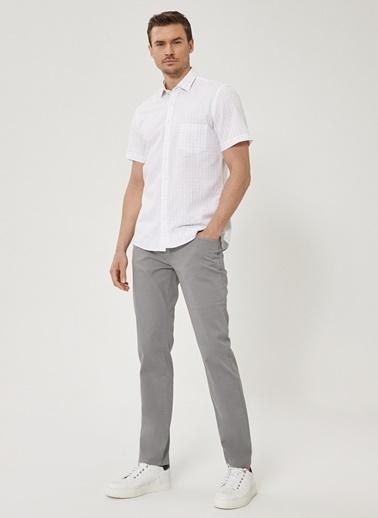 Beymen Business Slim Fit Pantolon 4B0120200067 Gri
